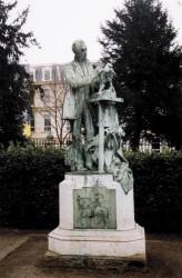 Monument à Emmanuel Fremiet – Paris (75005)