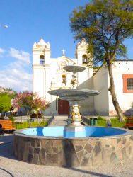 Pileta – Vasque fontaine – Santa Teresa –  Ayacucho