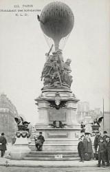 Monument aux aéronautes du siège de Paris – Paris (75017) (fondu)