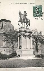 Monument à La Fayette – Paris, 8e arr.