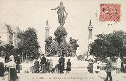 Le Triomphe de la République – place de la Nation – Paris (75012)