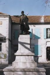 Monument au colonel Bourras – Pompignan