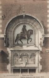 Portrait équestre de Louis XIV – Dunkerque
