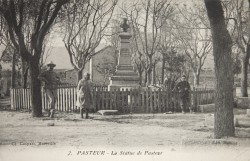 Monument à Louis Pasteur – Seriana-Pasteur