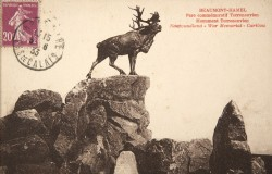 Caribou, ou Monument à la 51e division canadienne – Beaumont-Hamel