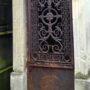 Portes de chapelles sépulcrales et corbeille - Division 55 - Cimetière du Père Lachaise - Paris (75020) - Image6
