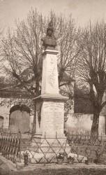Monument aux morts de 14-18 – Dracy-le-Fort