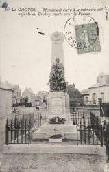 Monument aux morts de 14-18 – Rue du Général Leclerc – Le Crotoy