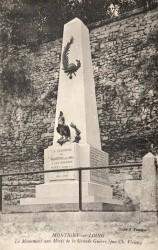 Monument aux morts de 14-18 – Montigny-sur-Loing