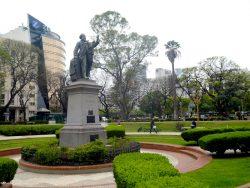 Monument à Adolfo Alsina – Plaza Libertad – Buenos Aires