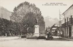 Monument aux morts de 14-18 – Bourg-d'Oisans