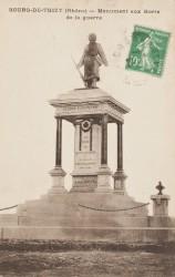 Monument aux morts de 14-18 – Bourg-de-Thizy