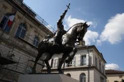 Statue de Jehanne d'Arc – Vaucouleurs