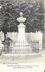 Monument à Nicolas Michel Foix (Fondu) – Chaumes-en-Brie