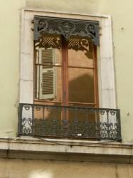 Lambrequin pour jalousie et garde-corps – Rue Filaterie – Annecy