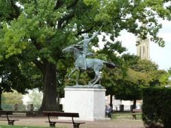 Monument à La Fayette – Jardin Boufflers – Metz