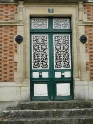 Panneaux de porte – Rue du Prieuré – Wassy