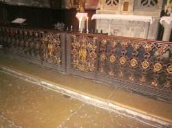 Grilles de choeur – Eglise Saint-Jacques – Montauban