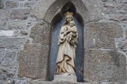 Vierge à l'enfant – Le-Mont-Saint-Michel