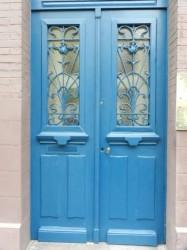 Panneaux de porte – Rue Lecampion – Granville