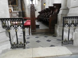 Appui de communion – Eglise Saint-Laurent – Eclaron
