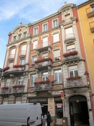 Balcons et ornement urbain – Belfort