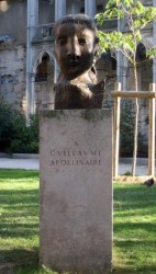 Monument à Guillaume Apollinaire  – Saint-Germain-des-Prés – Paris (75006)
