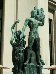 Apollon musagète – Terrasse du Palais Chaillot – Paris (75016)