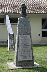 Buste de François Moudat – Canet-en-Roussillon