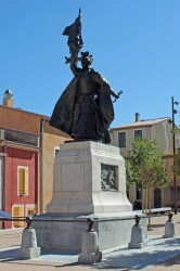 Statue de Françoise de Cézelly – Leucate (fondue et remplacée)