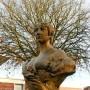 Buste Caroline Angebert et médaillon A. de Lamartine - Parc de la Marine - Dunkerque - Image2