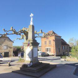 Croix – Monument aux morts – Loupiac