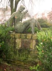 """Monument Baptiste Marcet """"Gloire au travail"""" – Amiens"""