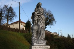 Statue – Notre-Dame de Bousseval – Brousseval