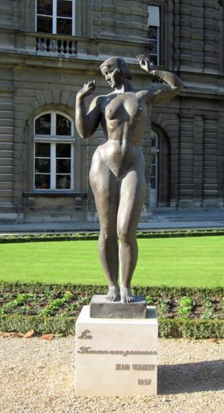 La femme aux pommes – Jardin du Luxembourg – Paris (75006)   E-monumen