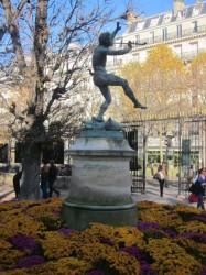 Faune dansant – Jardin du Luxembourg-  Paris (75006)