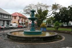Fontaine de l'Église  –  Saint-Benoît de la Réunion