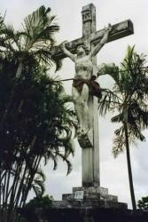Christ en Croix église de Sainte Rose – Sainte-Rose de la Réunion