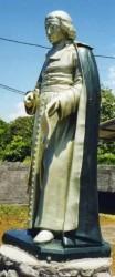 Statue du Bienheureux Saint Jean-Baptiste de la Salle   –  Saint-Philippe de la Réunion