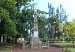 Palme de monument aux morts – Saint-Louis de la Réunion