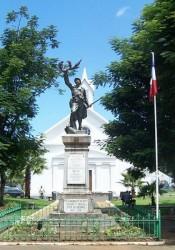 Monument aux morts- Sainte-Suzanne de la Réunion