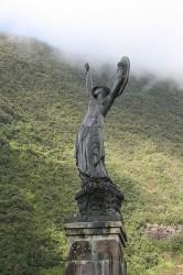"""Monument aux morts """"L'âme de la France"""" – Hell Bourg, Salazie, la Réunion"""