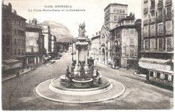 Fontaine-monument des Trois Ordres (Fondue) (remplacée) – Grenoble