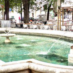 Lions ailés (2) –  Fontaine – Avenida da Libertade – Lisbonne