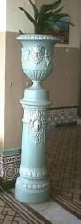 Vase sur piédestal- Hôtel Argentino – Piriápolis