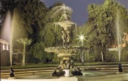 Fontaine monumentale – Al Tahra Palace – Le Caire