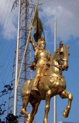 Statue équestre de Jeanne d'Arc – La Nouvelle-Orléans – Louisiane