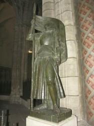 Statue de Jeanne d'Arc – Cathédrale Saint-André – Bordeaux