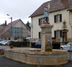 Fontaine Jeanne d'Arc – Sancey-le-Grand
