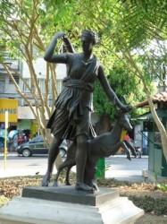 Diane à la biche – Praça Balbi – Manaús